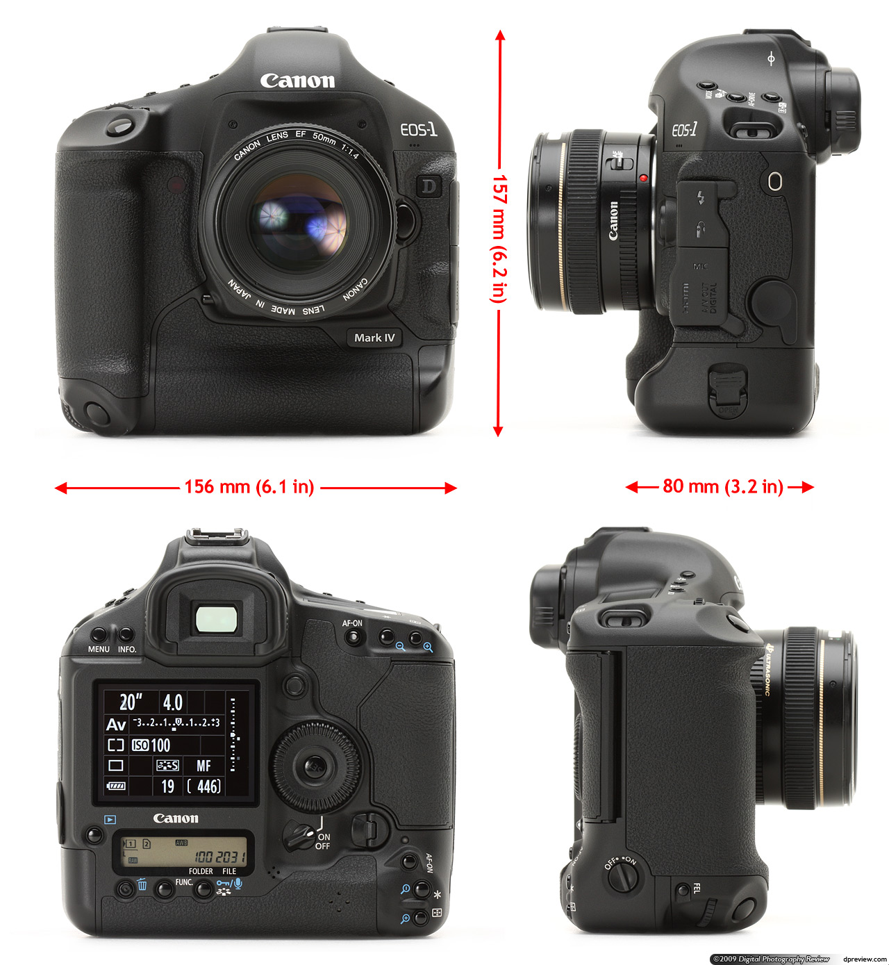 Canon EOS-1D Mark IV Review: Digital Photography Review