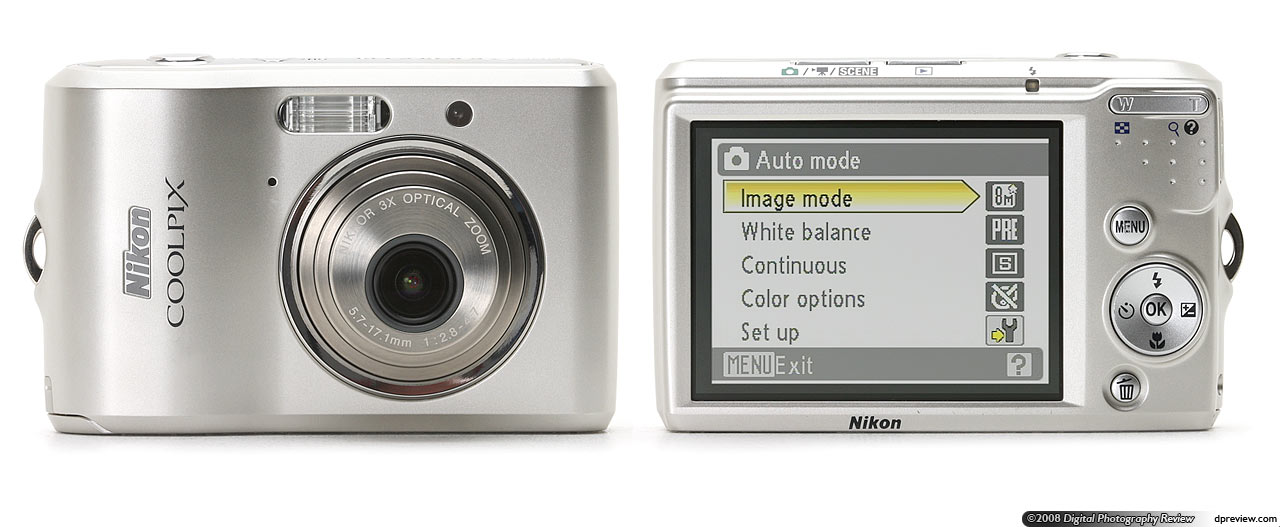 budget camera group test q4 2008 digital photography review rh dpreview com Nikon Coolpix L340 Memory Card Nikon Coolpix L18