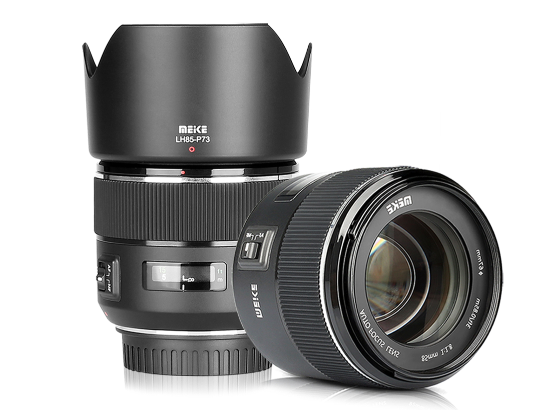 Meike announces full-frame 85mm F1.8, its first autofocus lens ...