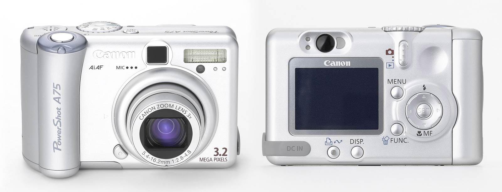 Canon PowerShot A550 Camera Twain Linux