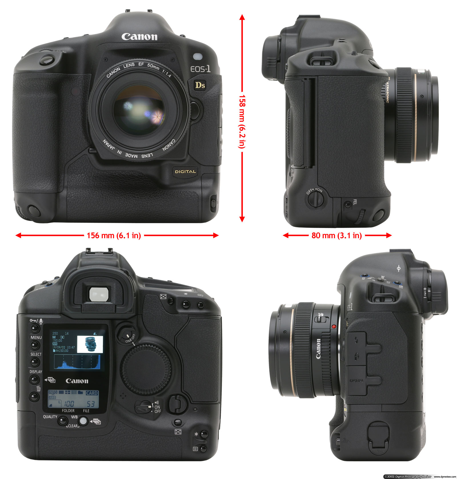 canon eos 1ds review digital photography review rh dpreview com Tractor Service Manuals Chilton Manuals
