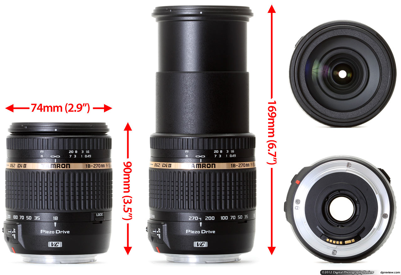 Tamron 18 270mm F 3 5 6 3 Di Ii Vc Pzd Review Digital Photography Review