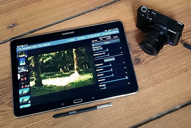 Raw processing on Android devices with Photo Mate R2