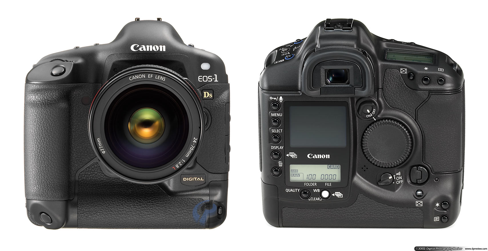Canon EOS-1Ds, 11 megapixel full-frame CMOS: Digital ...