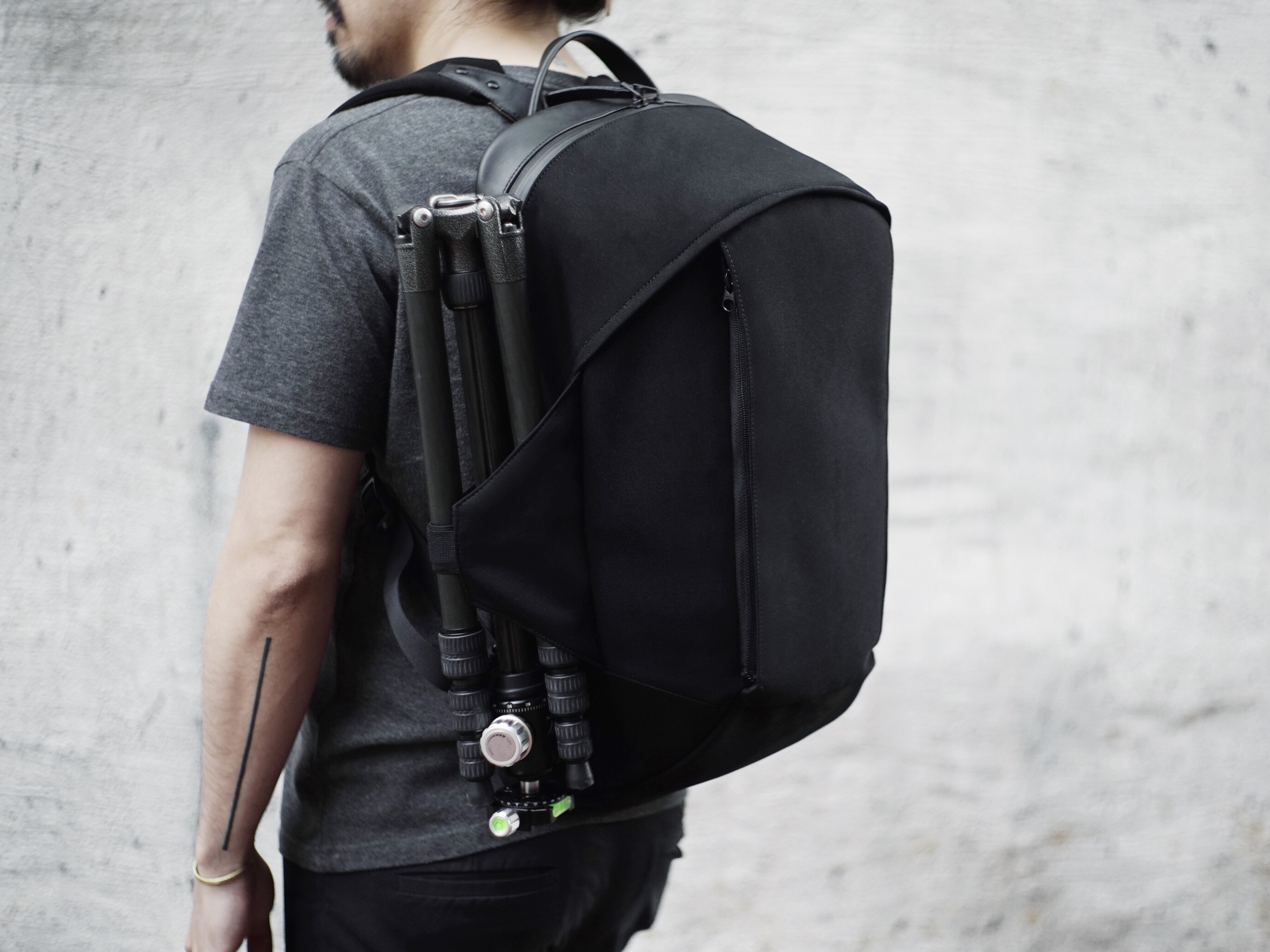 Design company ITR Studio has launched a Kickstarter campaign for its The One  Backpack be38f2511eb55