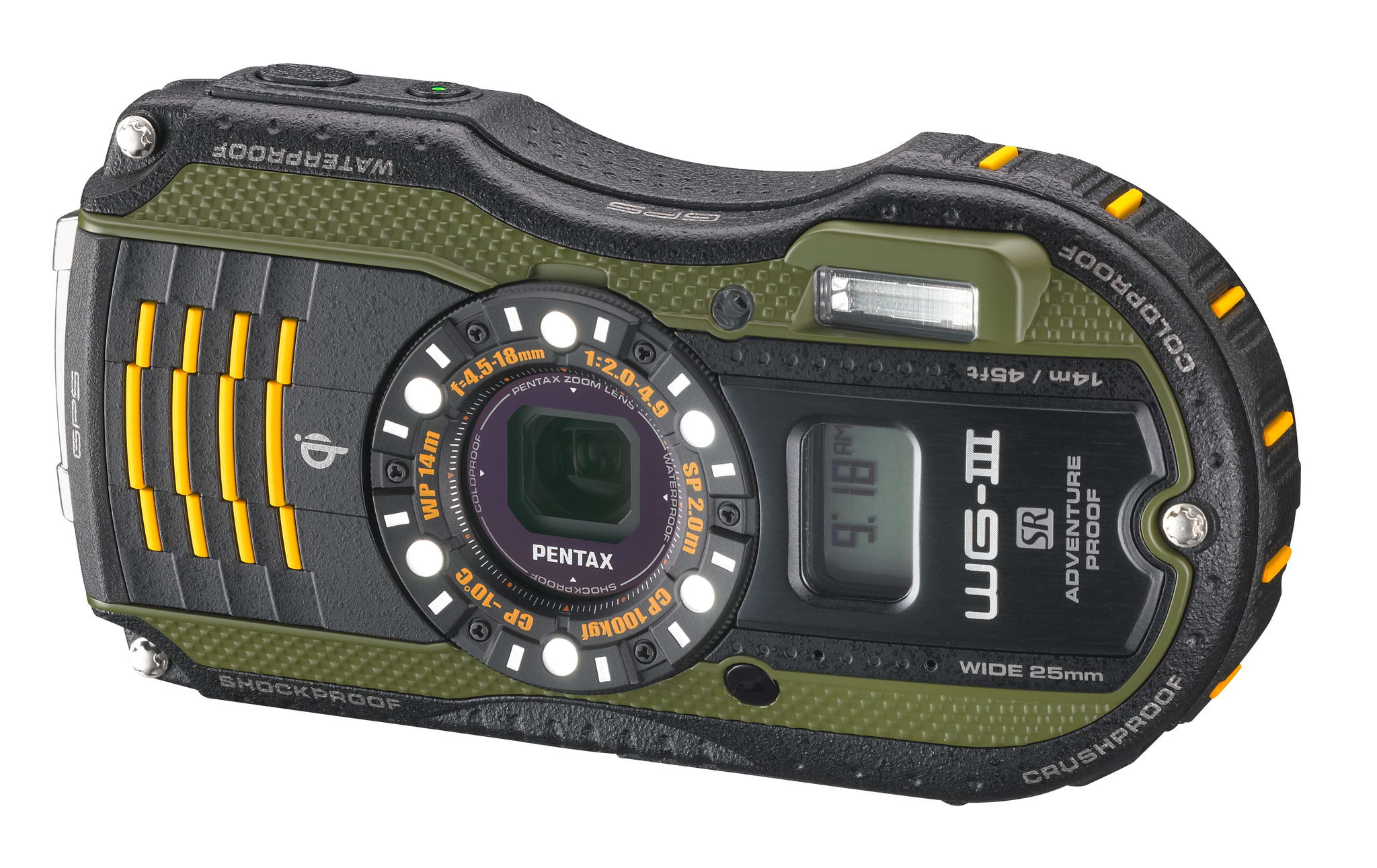 Pentax Introduces 15th Generation Ruggedized Camera The Wg 3 Gps And