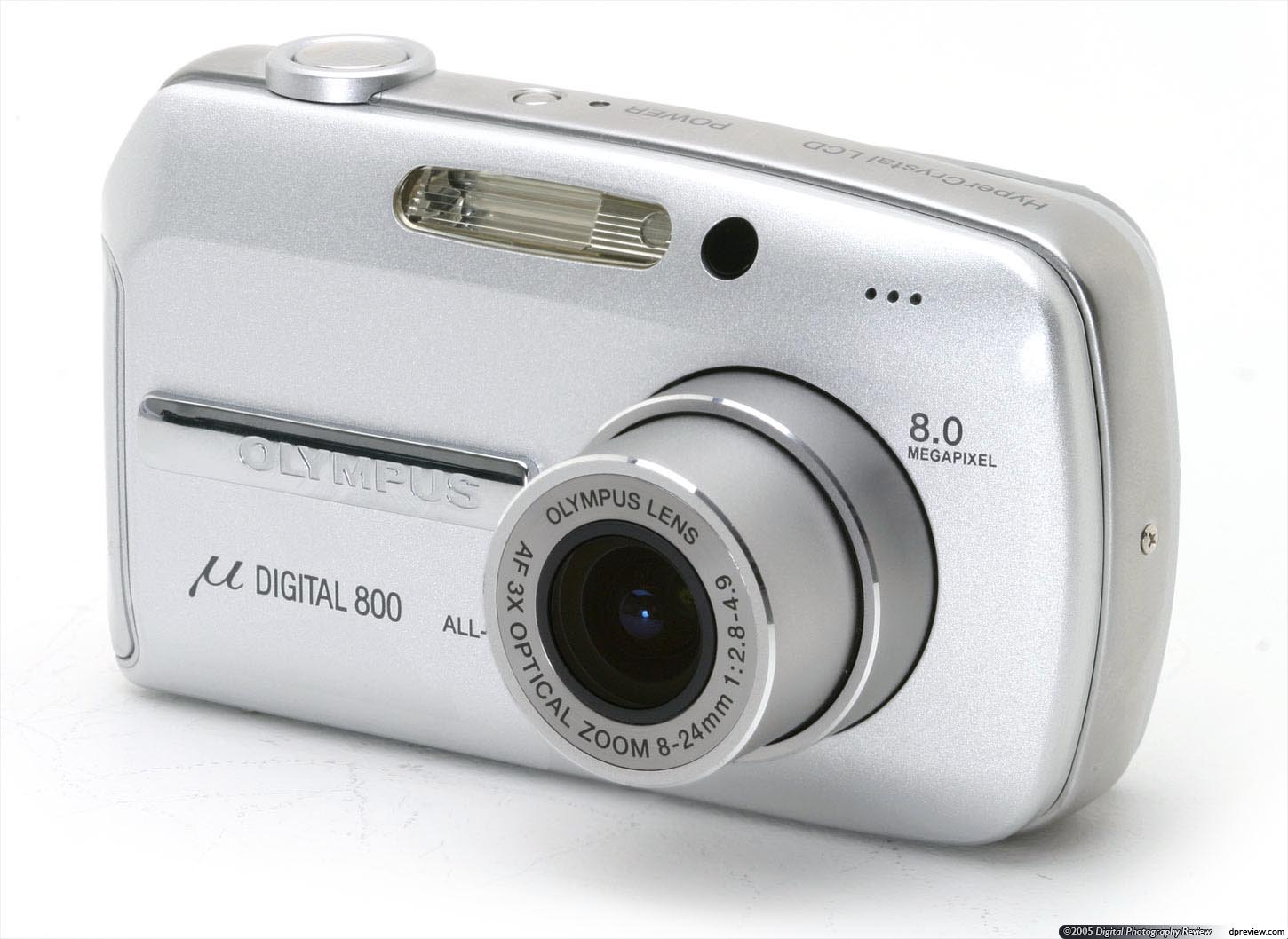 olympus unveiled its first 8mp compact the digital 800 stylus 800 digital back in may 2005 as well as offering one of the highest pixel counts in its - Olympus Digital Camera