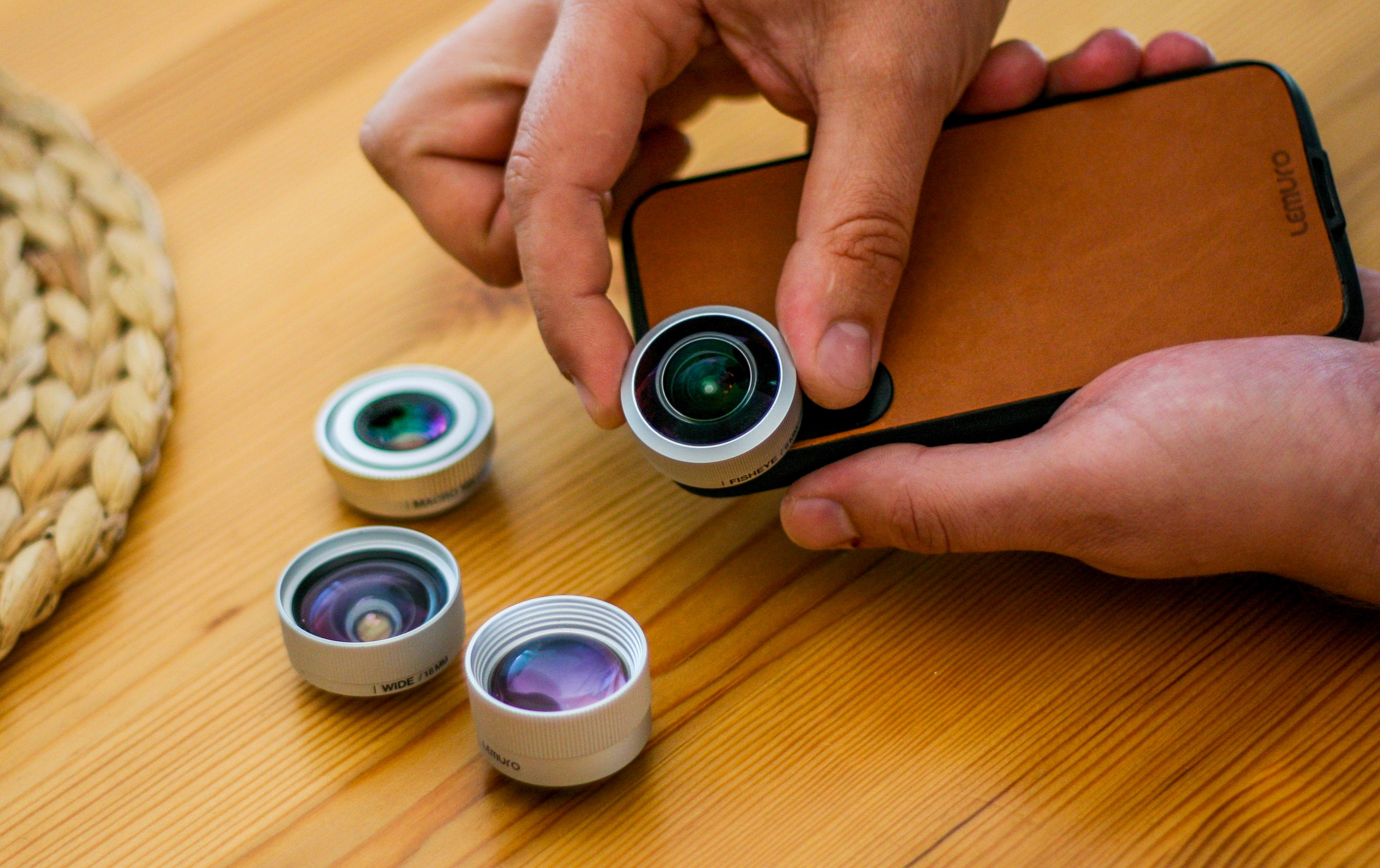 big sale 29d19 9a2f5 Lemuro launches line of high-end iPhone accessory lenses: Digital ...