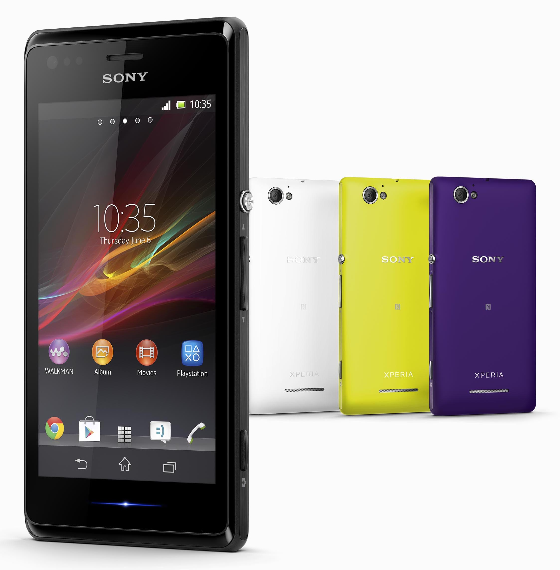 sony announces mid range xperia m smartphone digital photography review
