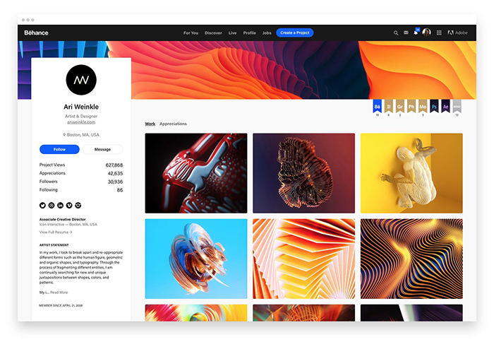 Adobe Gives Behance A Facelift With Improved Profile And