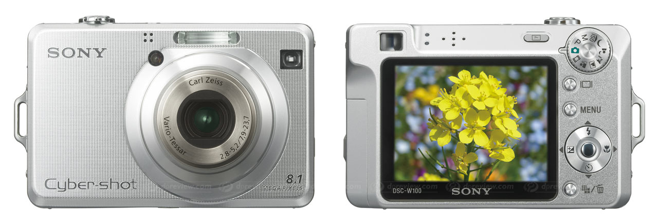 Sony Cyber-shot DSC-W70 and DSC-W100: Digital Photography Review