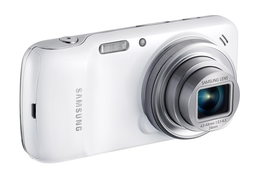 Samsung unveils Galaxy S4 Zoom camera/phone hybrid ...