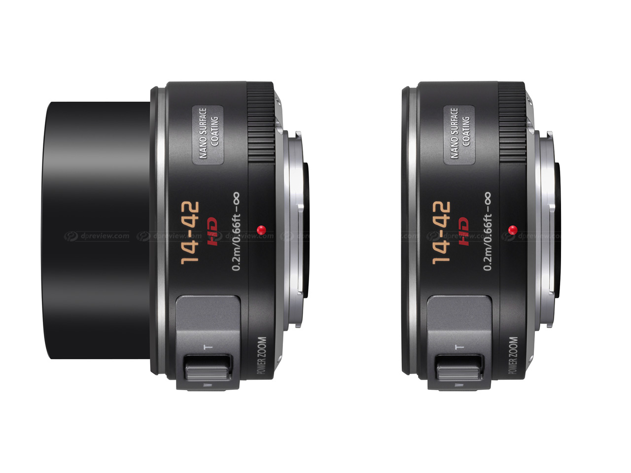 Panasonic updates firmware for X 14-42mm and 45-175mm lenses