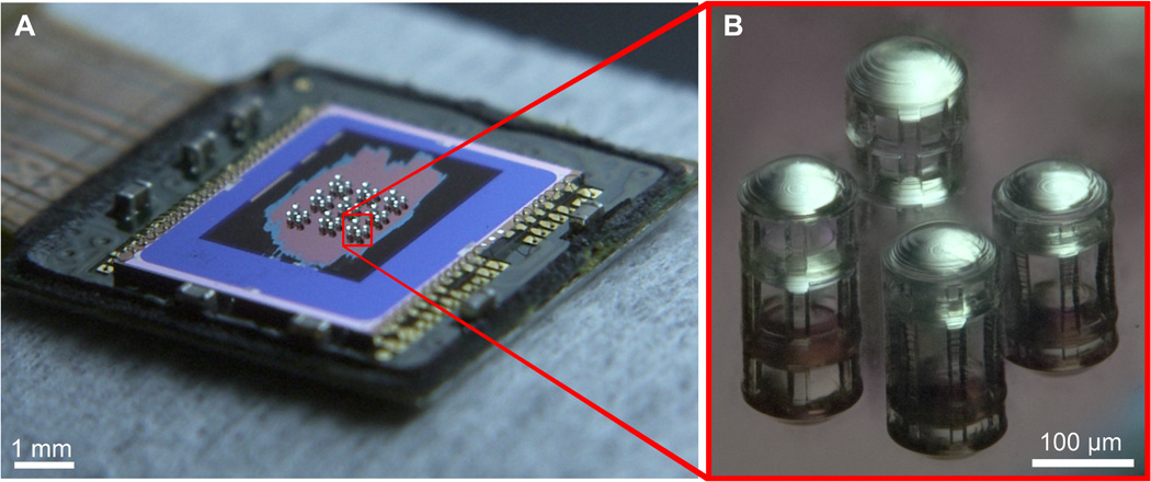This CMOS sensor with 3D-printed microlenses is designed ... | 1050 x 440 jpeg 150kB