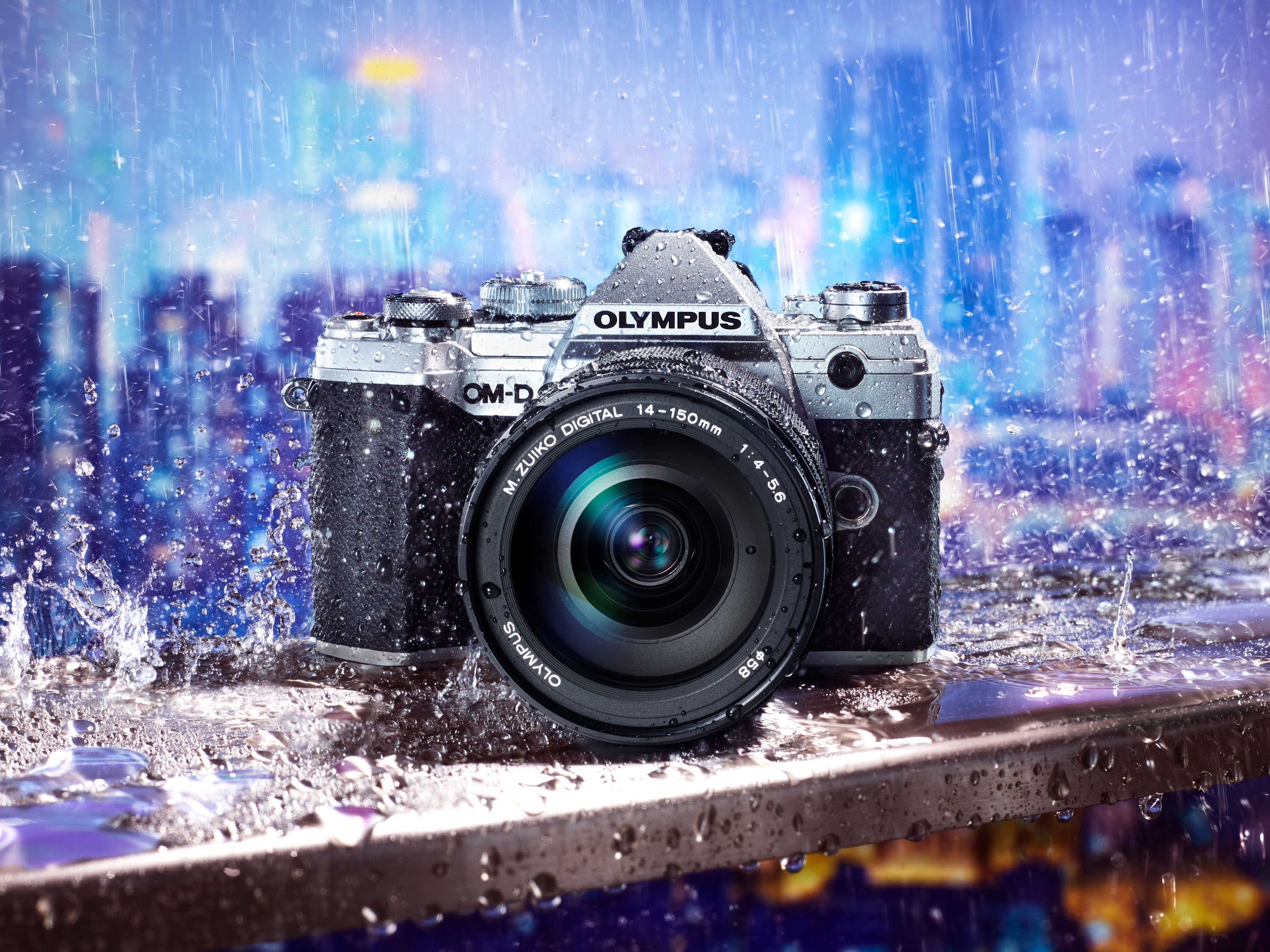 New Olympus OM-D® E-M5 mark iii empowers you to break free from heavy gear