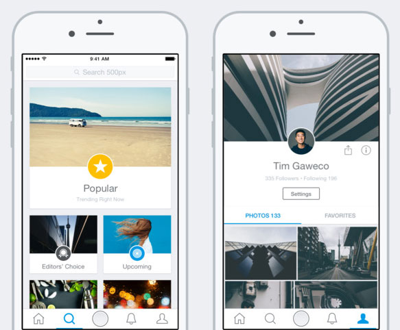500px launches redesigned iOS app: Digital Photography Review