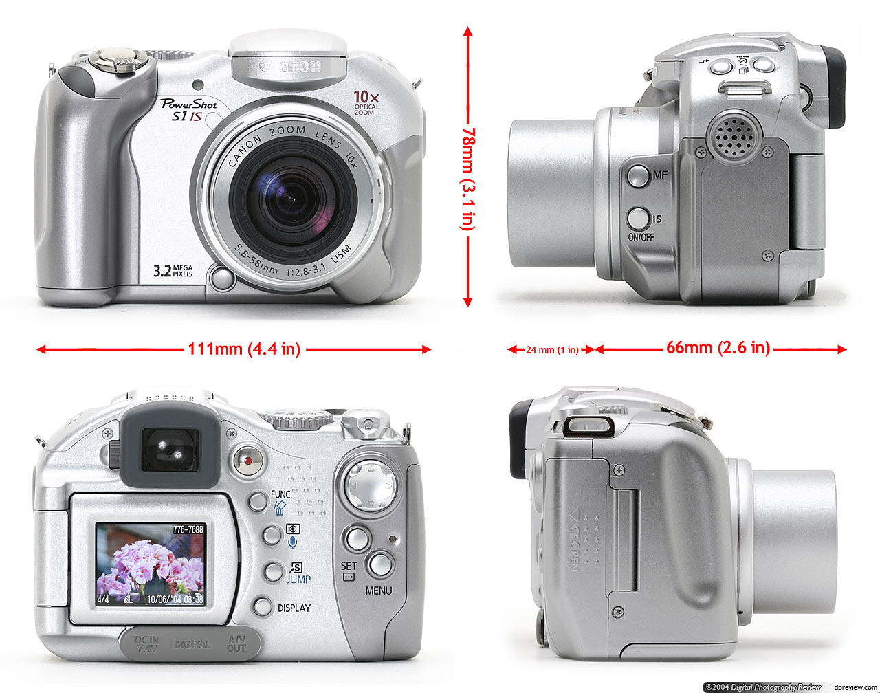 canon powershot s1 is review digital photography review rh dpreview com Canon Pro-1 Canon Rebel S1