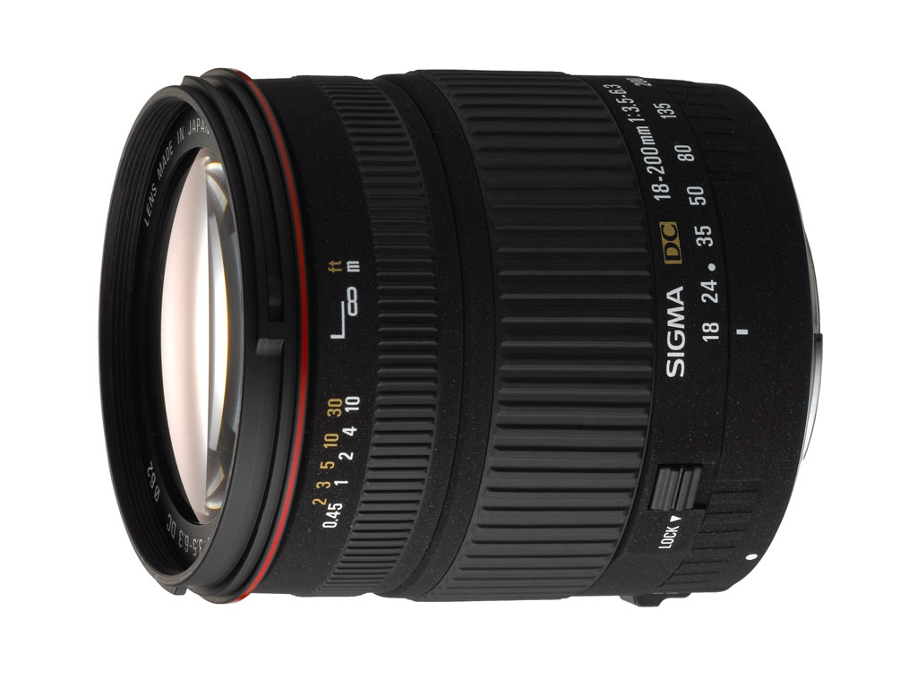 Sigma 18 - 200 mm DC lens: Digital Photography Review