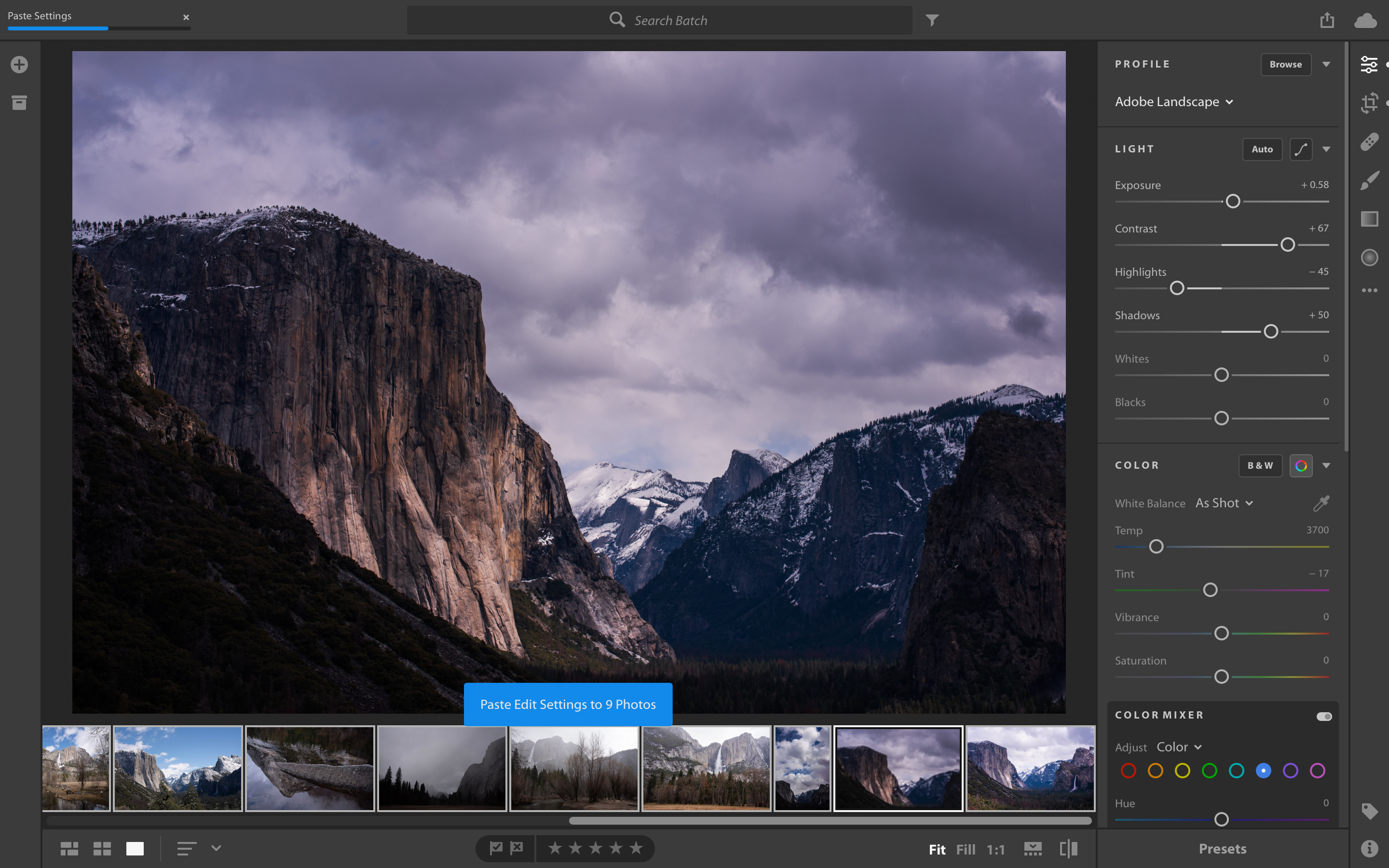 Adobe Creative Cloud updates bring preset and profile