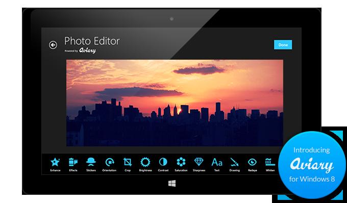 Aviary photo editing tools come to Windows 8: Digital