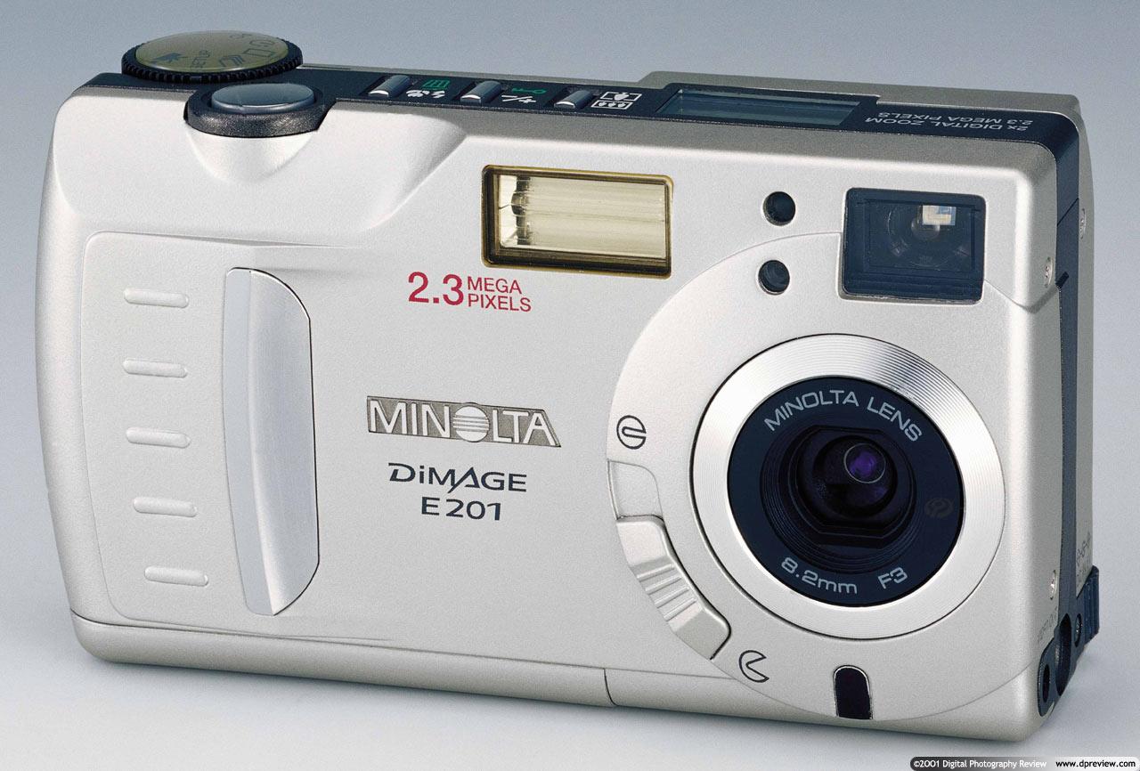 minolta confirm e201 for us market digital photography review rh dpreview com Minolta DiMAGE Z5 Minolta DiMAGE 7I