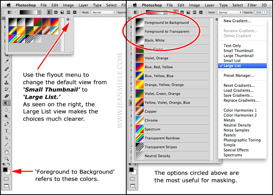 Photoshop Gradient Tool: Blending Images: Digital Photography Review