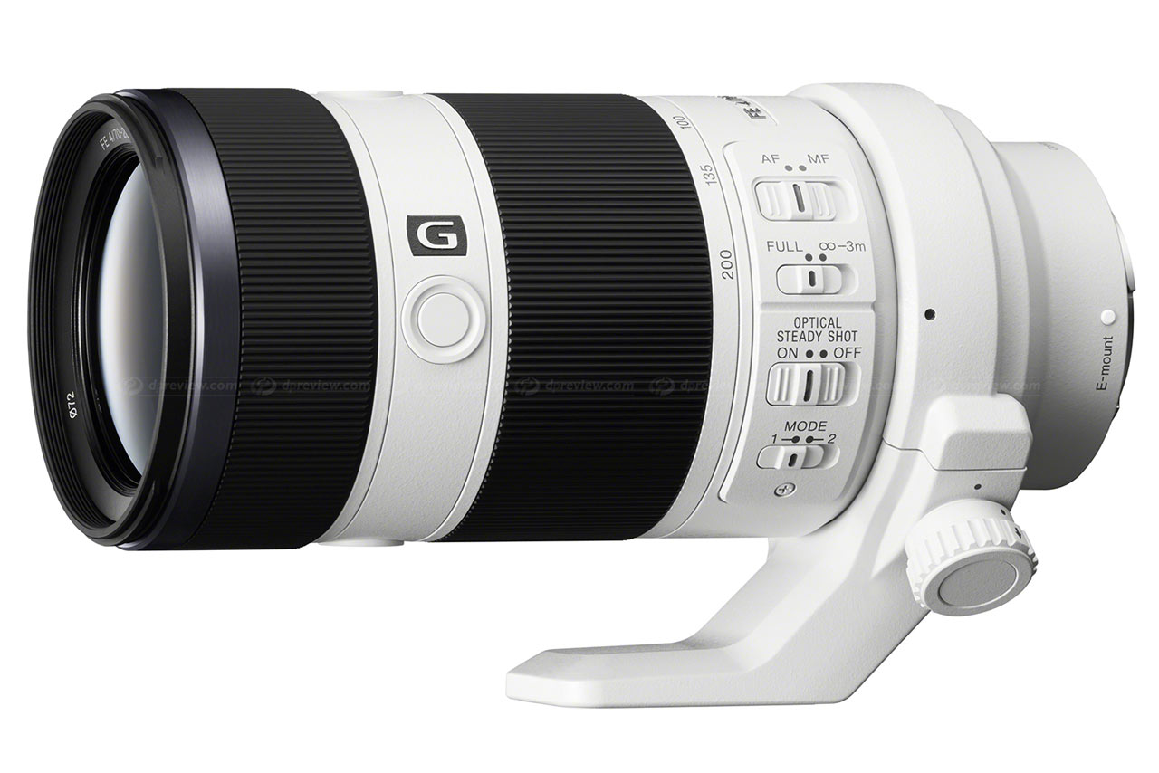 Sony pins $1500 price tag on E-mount FE 70-200mm F4 G OSS: Digital ...