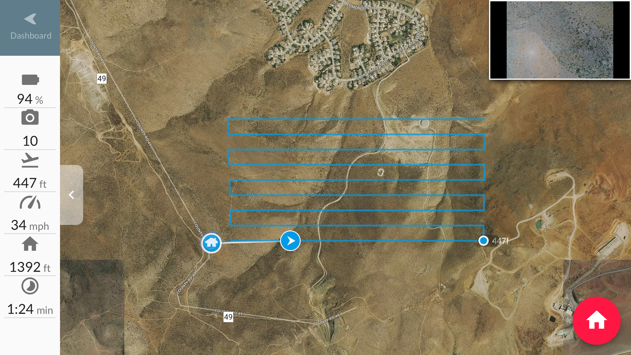 Intro To Drones Part 1 Drone Basics Digital Photography Review Make Yourself Visible Others When Your Flying Strobe Lights One Of The Intelligent Flight Modes Waypoints Seen Here Can Turn Phantom 4 Pro Into A Powerful Surveying Tool That Has Ability Collect Data