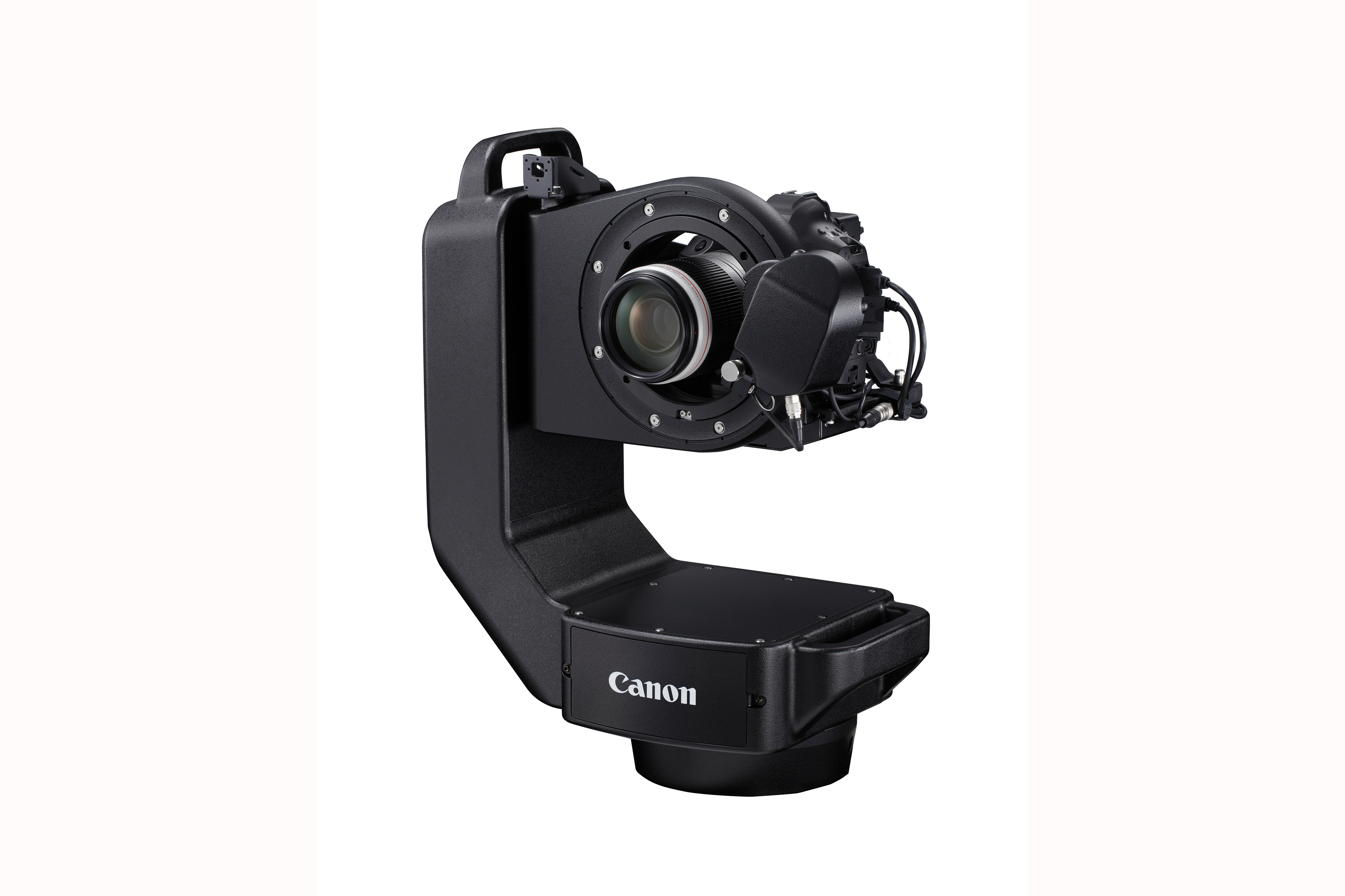 Robot Screw Lens onto Canon EOS M  camera Adapter