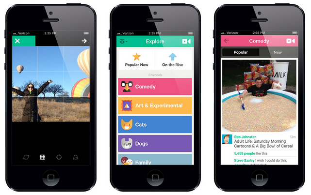 App News For Photographers Polaroid For Android App Vine Update And More Digital Photography Review