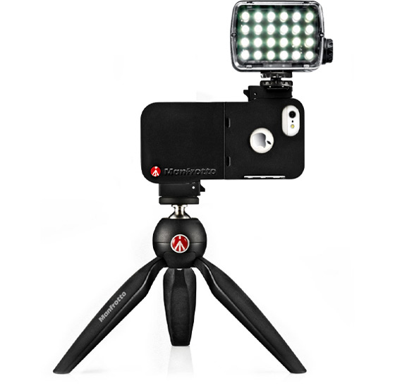 manfrotto brings klyp to iphone 5 introduces pixi tripod