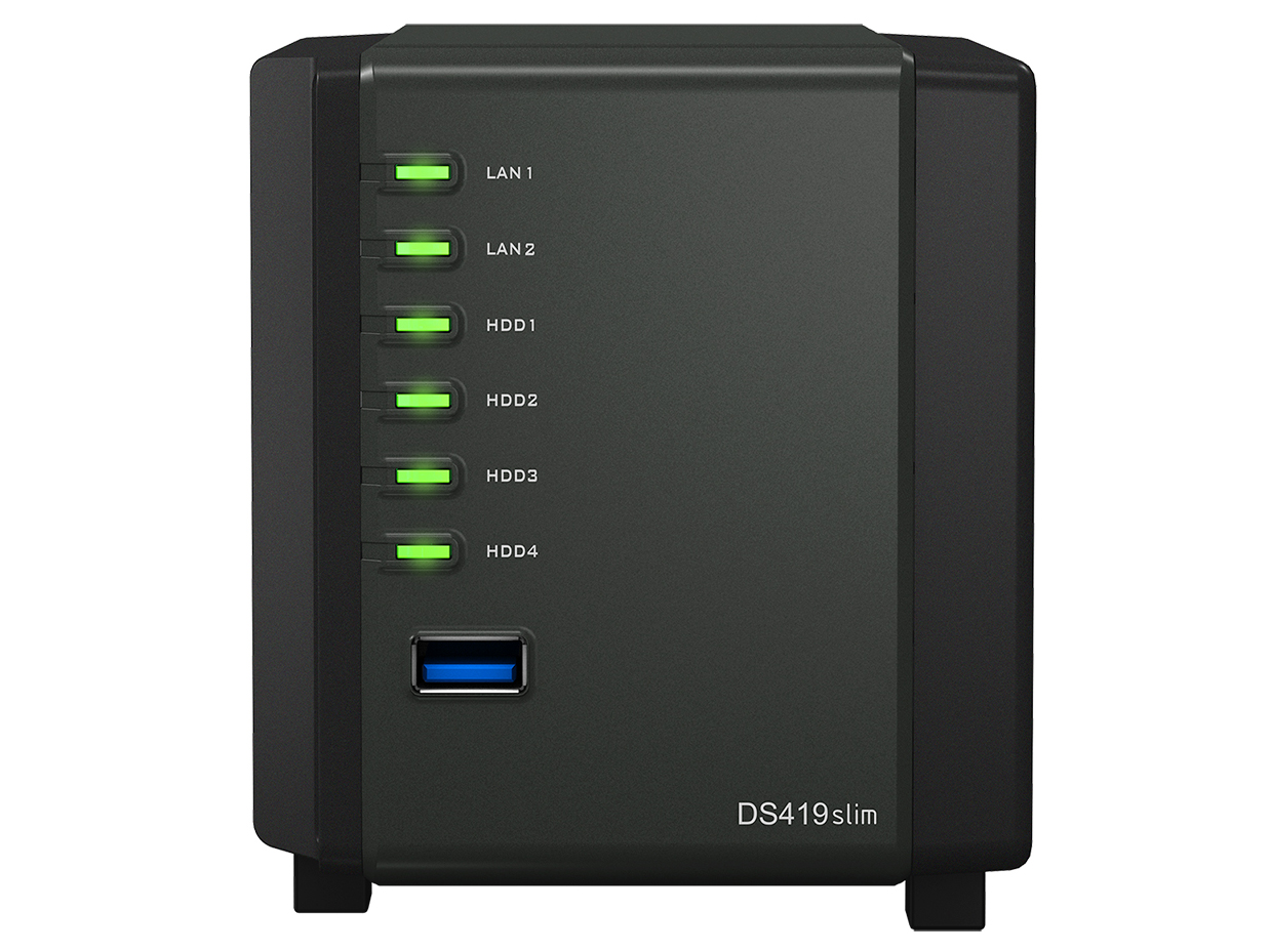 Synology launches DS419Slim miniature NAS: Digital