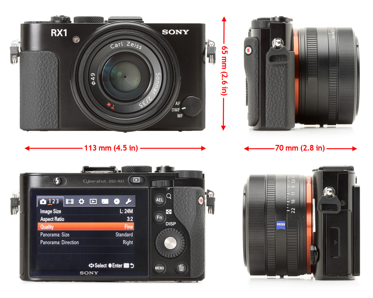 Sony Cyber Shot Dsc Rx1 Review Digital Photography Review