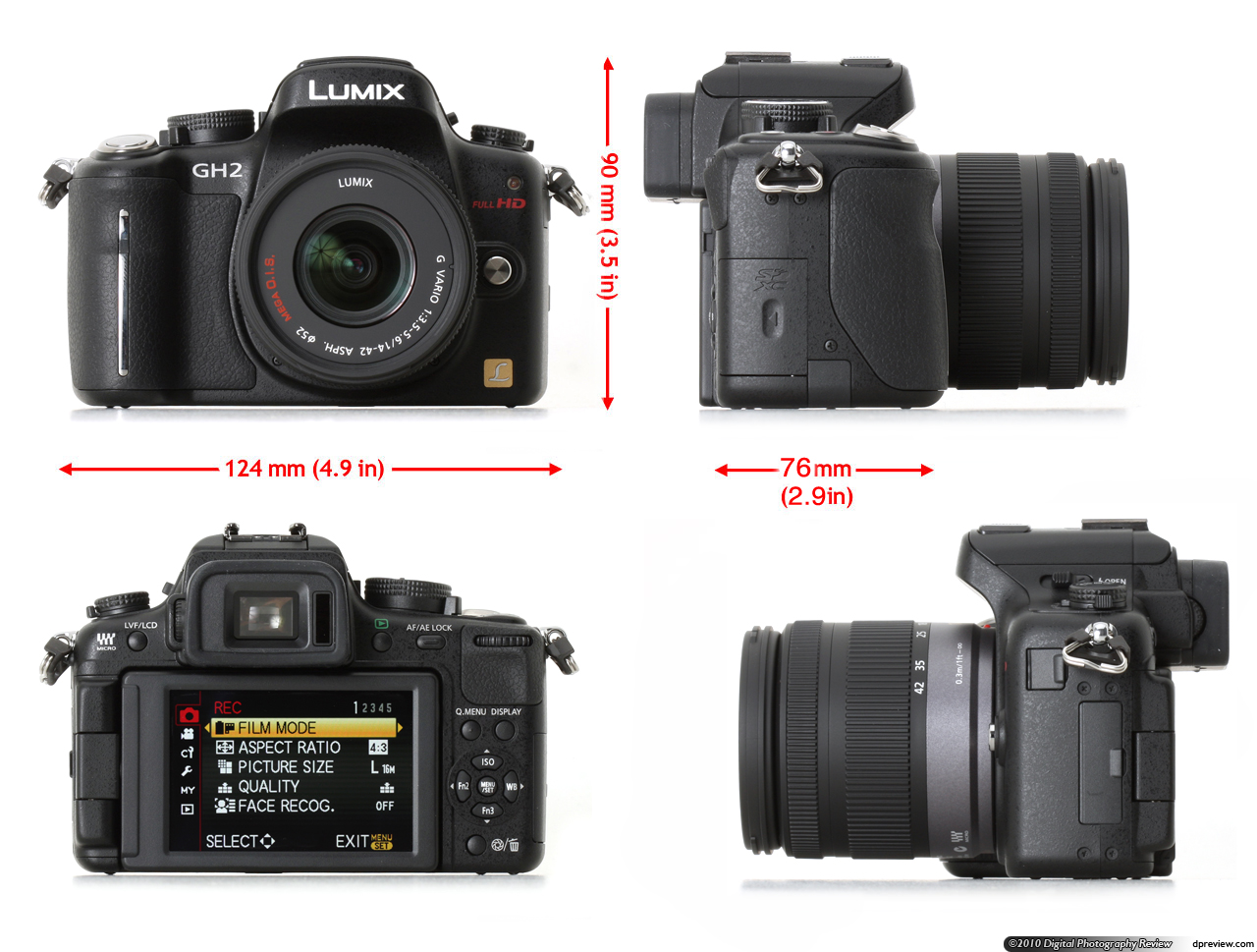 Panasonic DMC-GH2 Review: Digital Photography Review: https://www.dpreview.com/reviews/panasonicdmcgh2/3