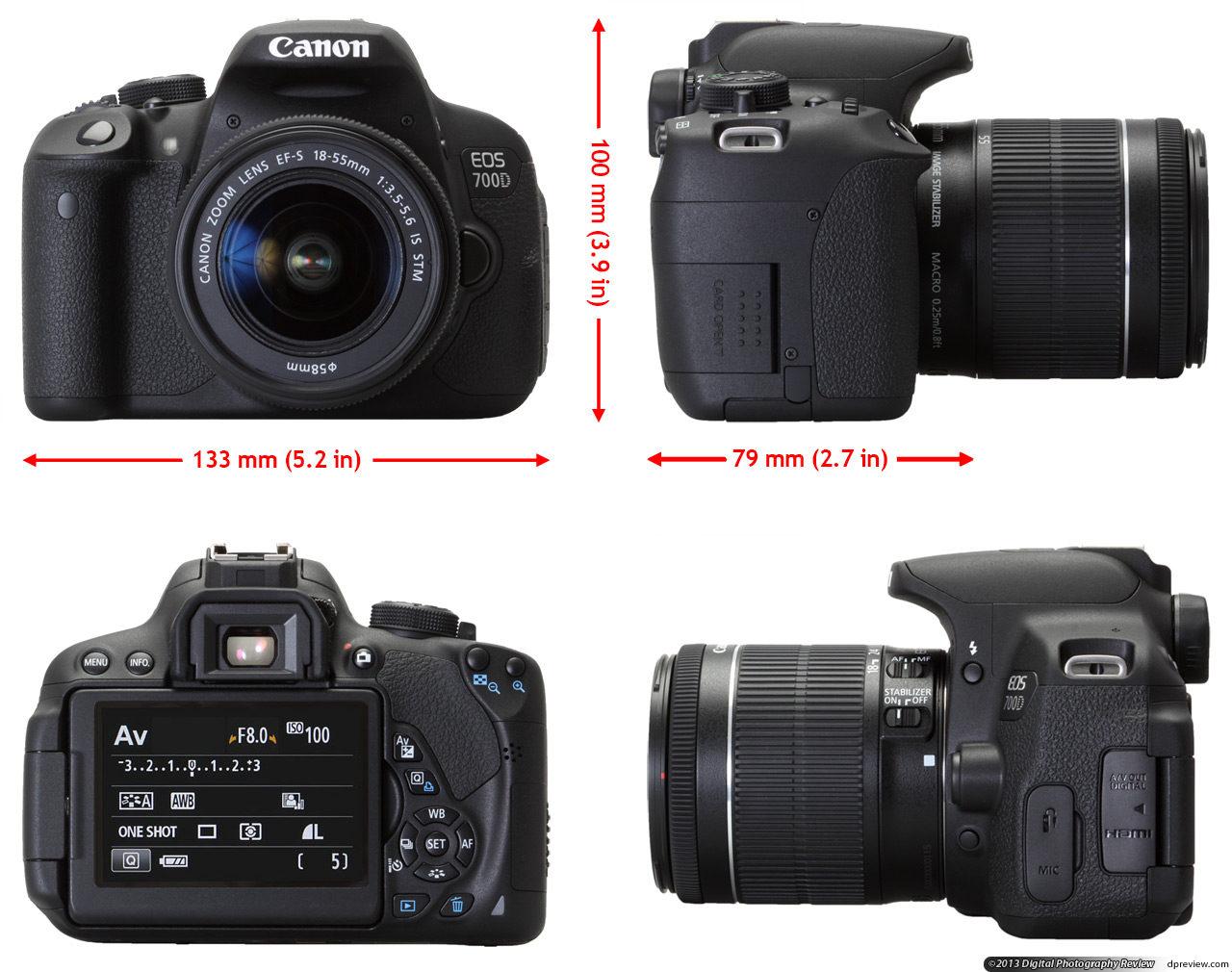 canon 700d firmware on canon 600d