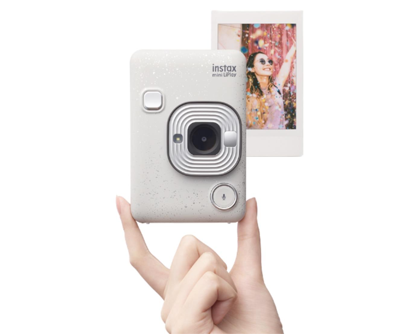 Fujifilm Instax Mini LiPlay can play sound that's printed