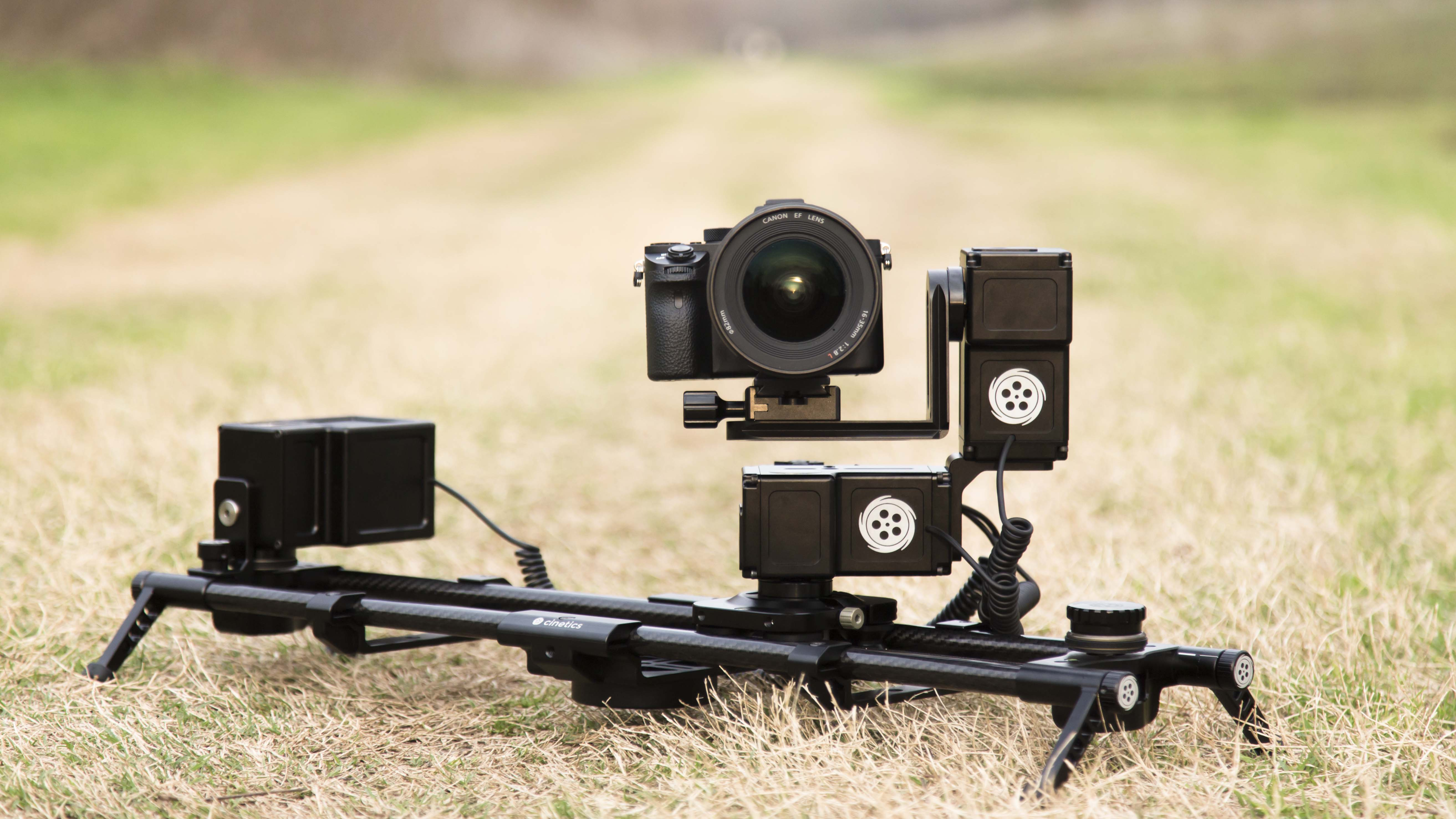 Cinetics announces new lynx camera slider and motion for Motorized video camera mount