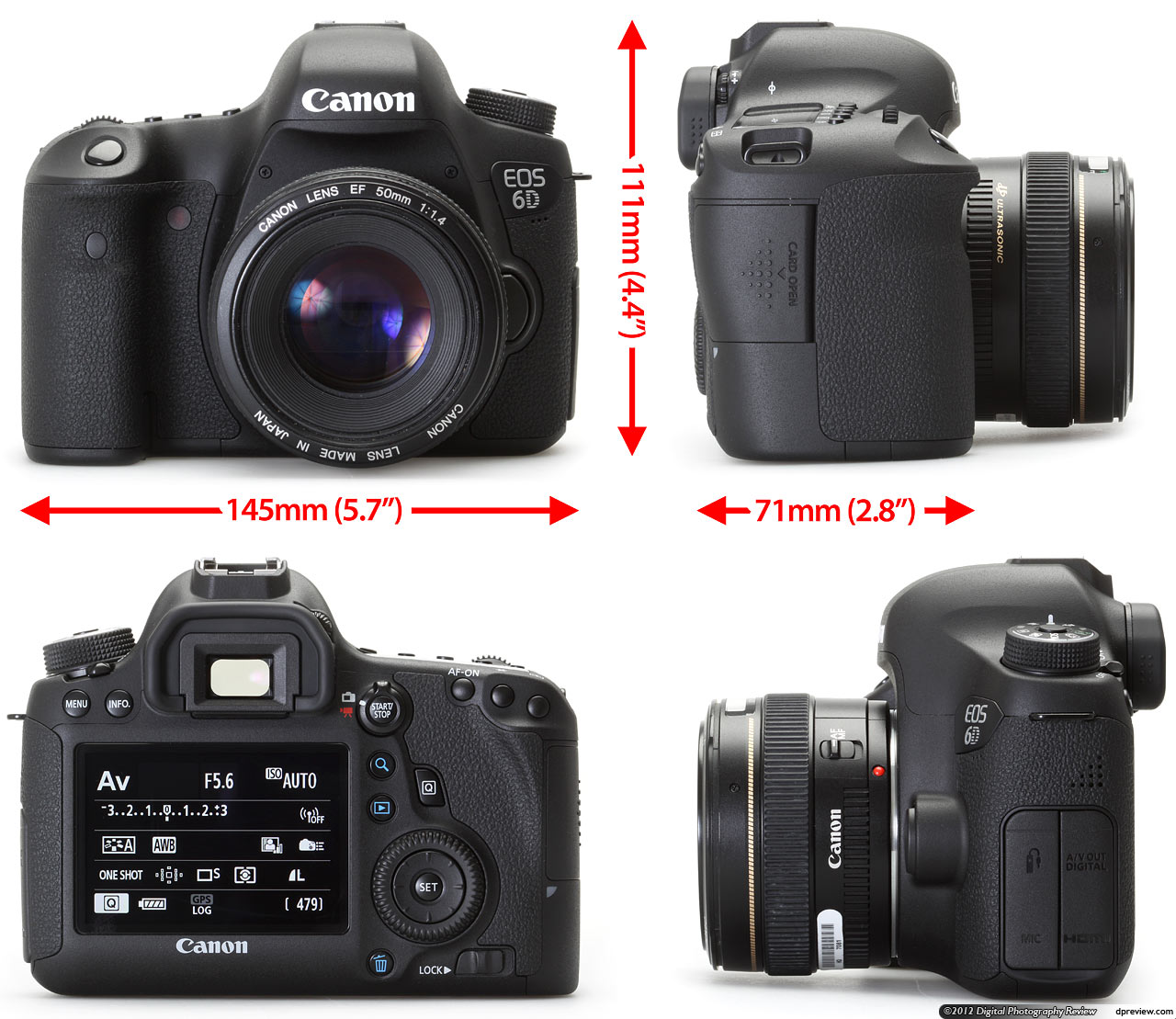 Canon EOS 6D In-Depth Review: Digital Photography Review