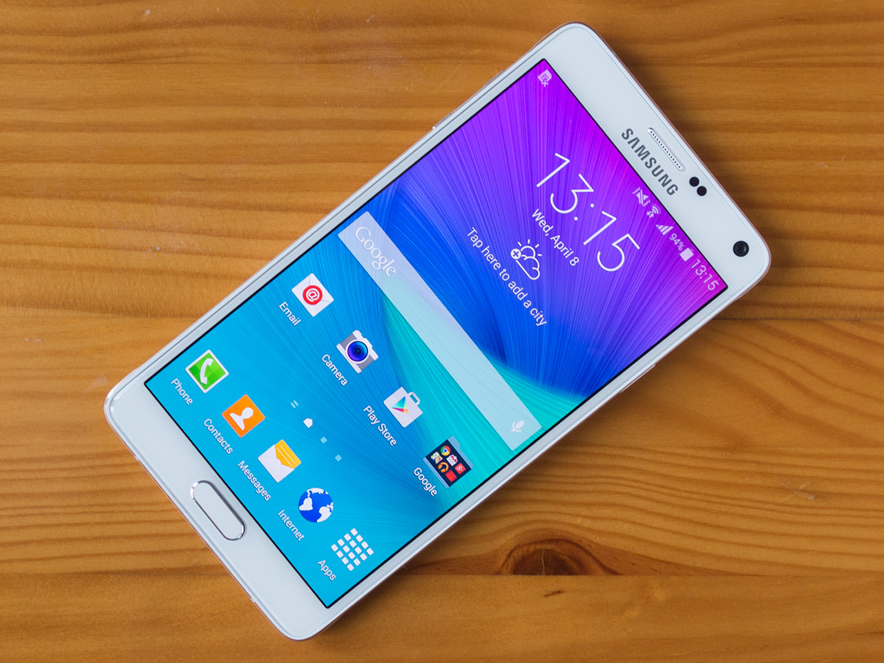 how to find a widget on samsung note 4