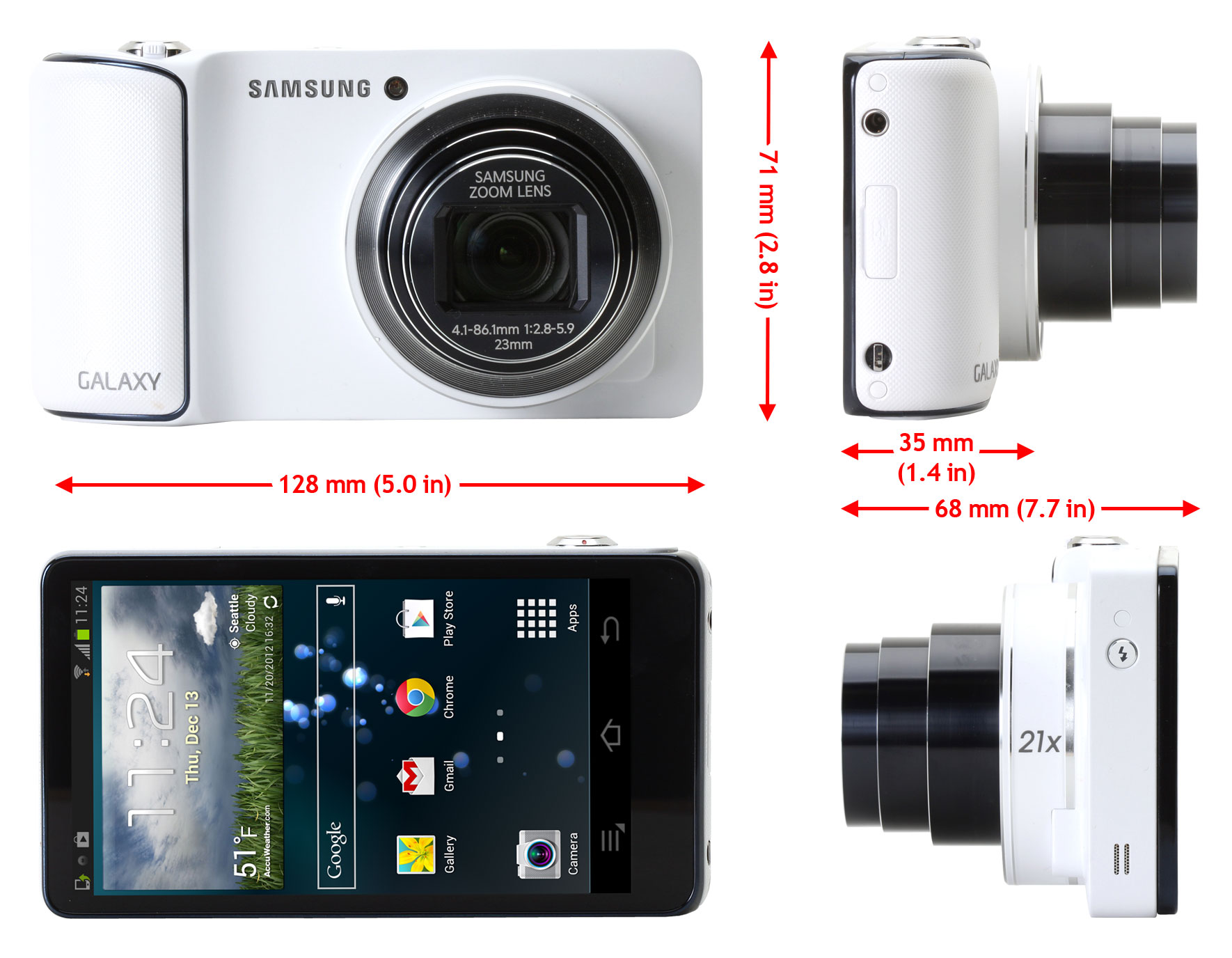 Samsung Galaxy Camera in-depth review: Digital Photography Review