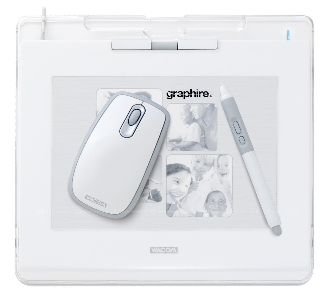 Wacom Graphire4 pen tablets: Digital Photography Review