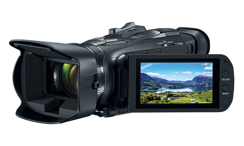 Canon reveals VIXIA HF G50 4K UHD, W10, and W11 camcorders