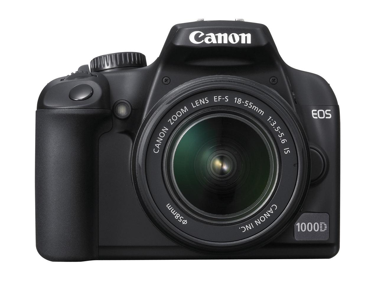 Amstelveen, The Netherlands, 10 June 2008: Canon today announces its latest  D-SLR, the EOS 1000D. Featuring a 10.1 Megapixel CMOS sensor, 7-point wide  area ...