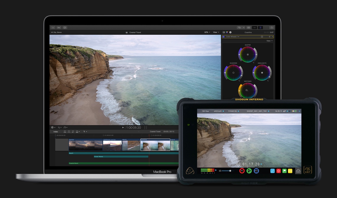 Apple introduces new ProRes RAW video format with Final Cut