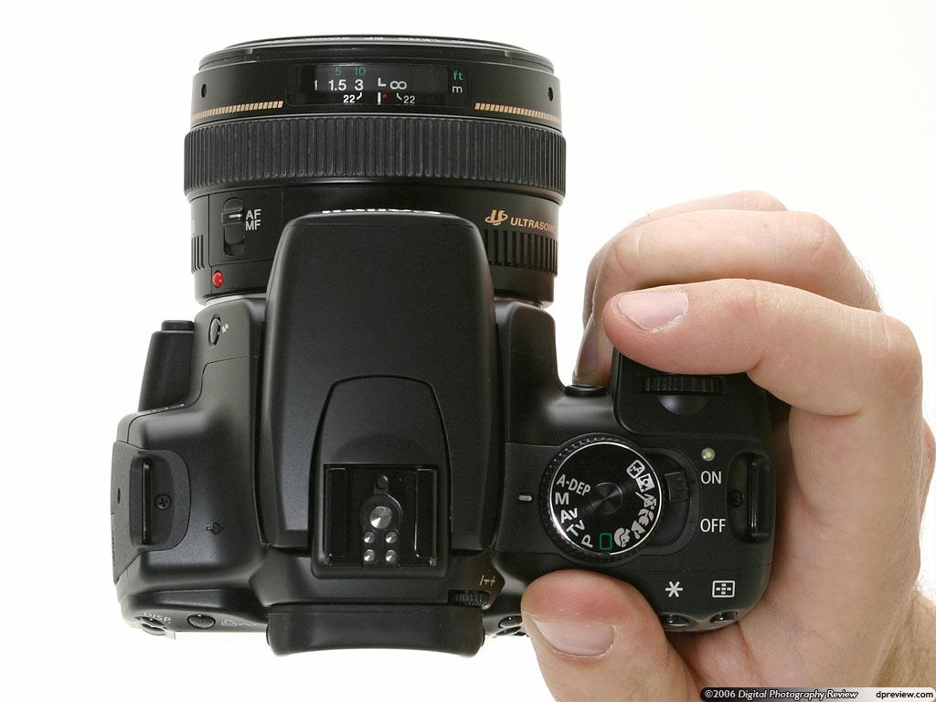 Canon EOS 400D / Digital Rebel XTi/ Kiss X Digital Review