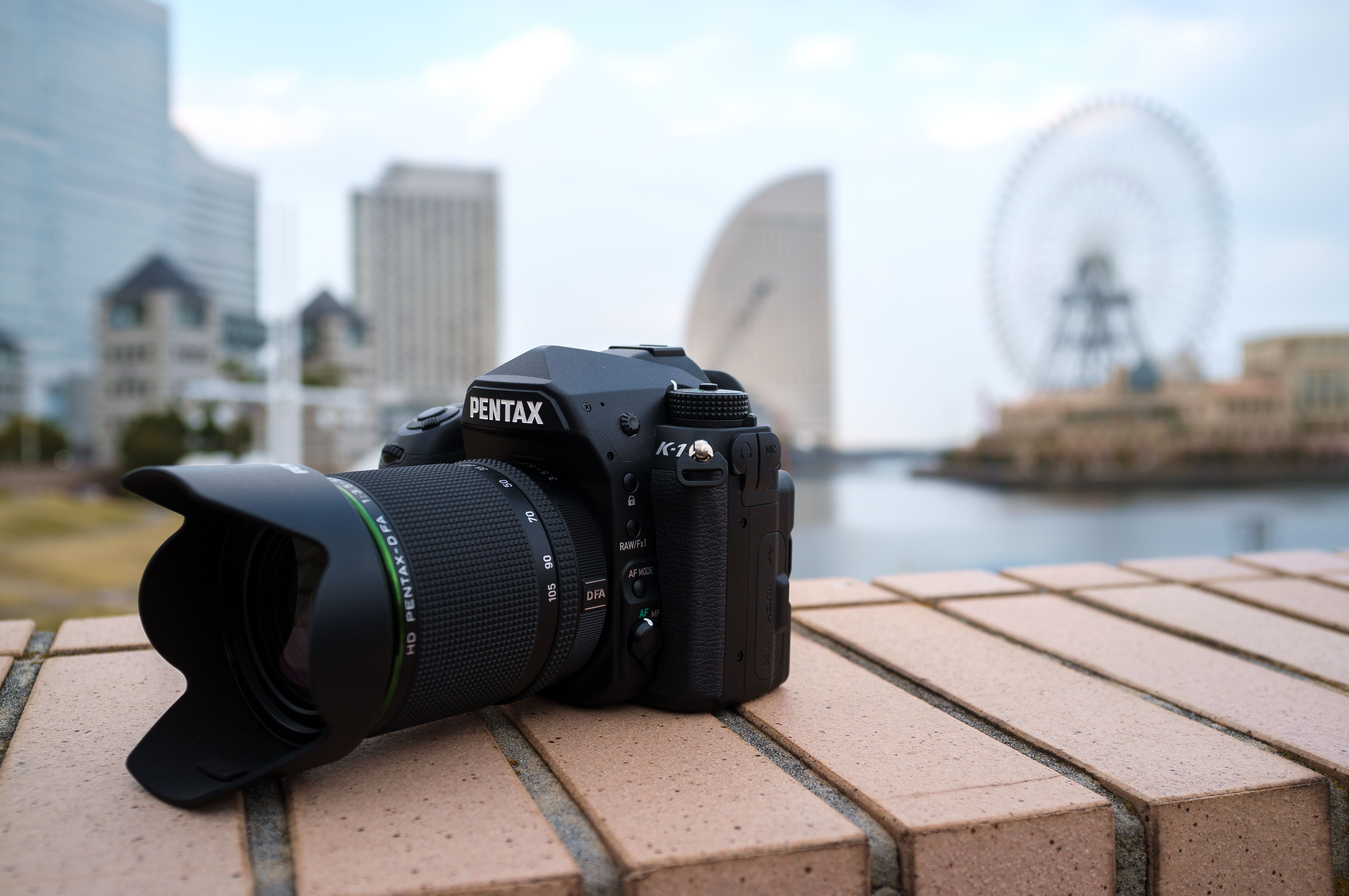 CP+ 2016: shooting the Pentax K-1 in Yokohama