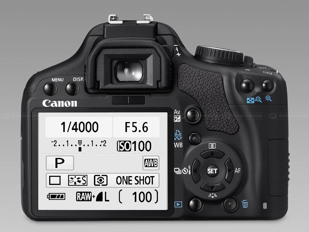 Canon EOS 450D / Digital Rebel XSi Specifications