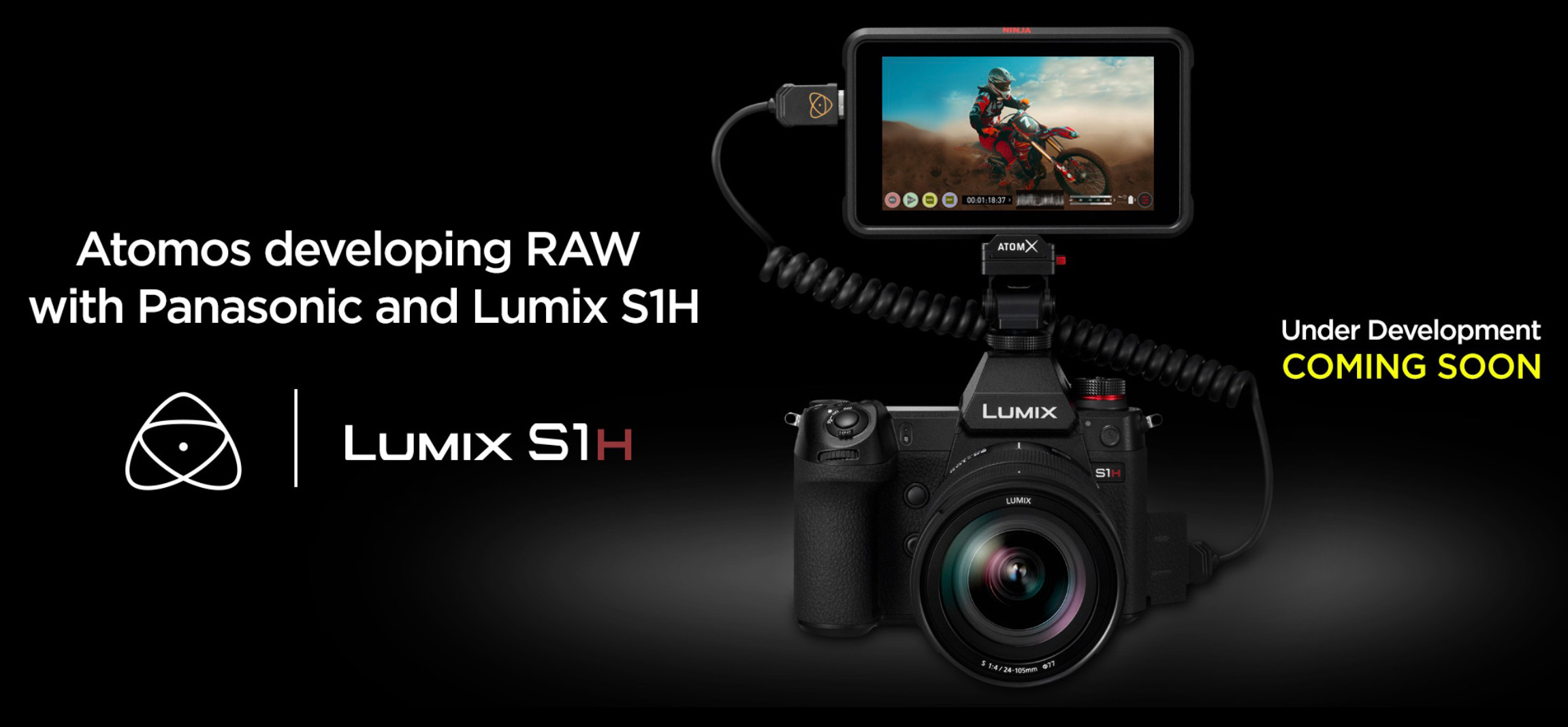 Atomos and Panasonic to co-develop Raw video for the