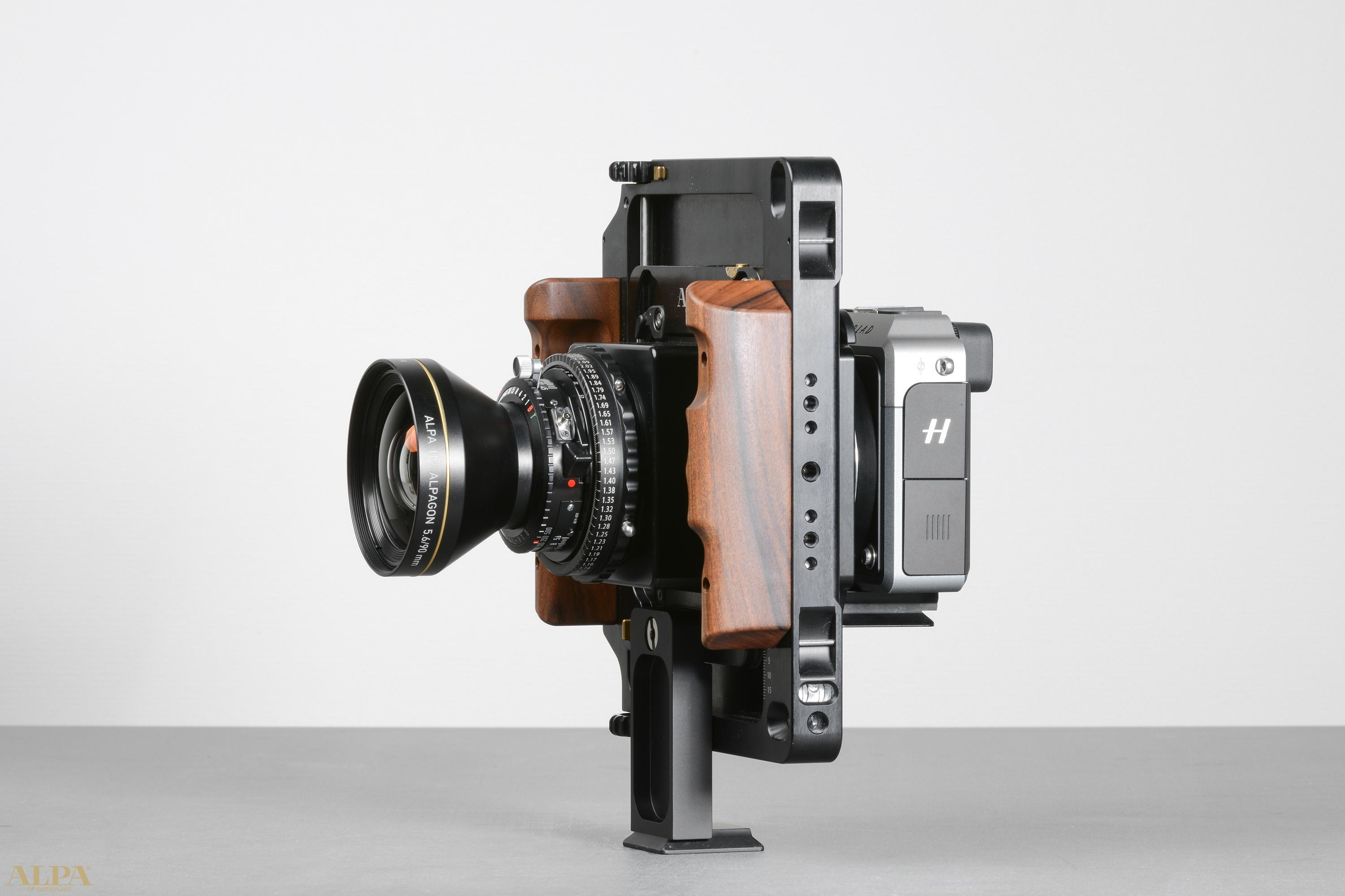 Alpa's HXD adapter lets you mount Alpa lenses on Hasselblad's 50MP