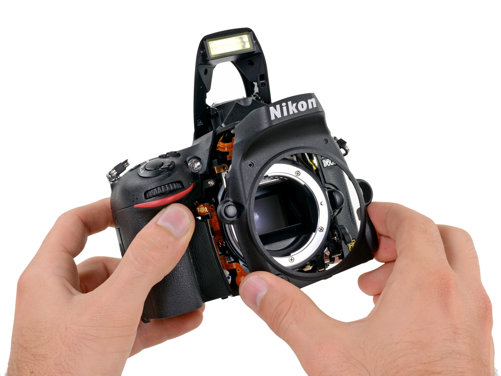 ifixit tears down the nikon d600 chipworks confirms sony sensor rh dpreview com Nikon D90 Manual Focus Nikon D90 Manual Focus